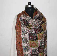 hand woven Pashmina shawls or Cashmeres